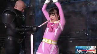 Japanese Heroine Pink Ribbon Torture by evil alien (Watch Full At tentaclehentai.net :  )