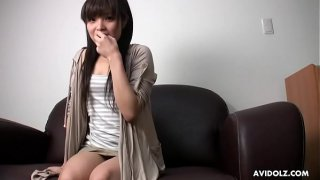 Japanese teen brunette, Yurika Gotoh got banged very hard, uncensored