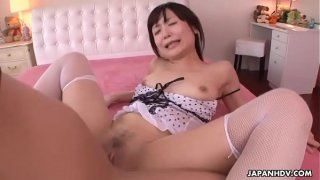 Japanese honey, Tsukushi got fucked very hard and creampied, uncensored