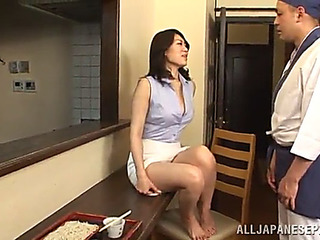 Oriental hottie sucks jock and acquires nailed