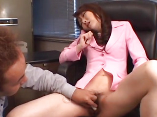 Fascinating chavette Maria Fujisawa groans as that babe acquires her cumhole gangbanged