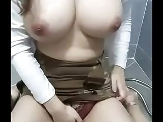 Big tit Korea Girl show !