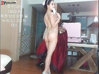 The best of BJ ! Super body asian girl korea bj show time on cam !