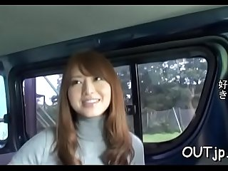 Overwhelming lady Akiho Yoshizawa is playing with her big sextoy