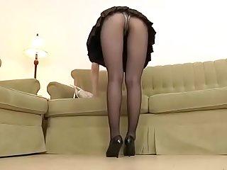 被狂草的丝袜瑜伽美女教练