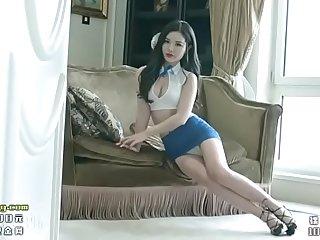 金牌網紅陳宇曦制服的誘惑