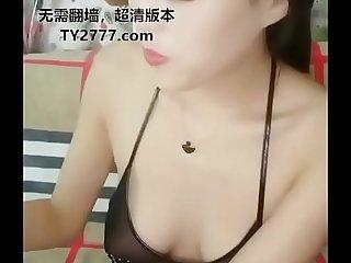 网红脸极品御姐主播KT欣儿出脸道具大秀