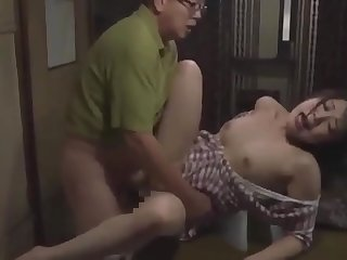 dad fucks his cute stepdaughter