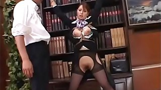 Japanese babe uncensored cabin attendant