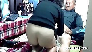 hot korean hooker gets banged by grandpa