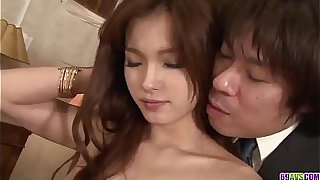 Hot japan girl Mei Haruka fuck in all her whores