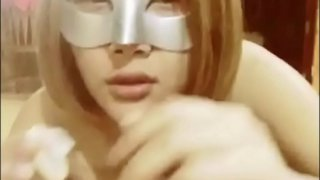 chinese mask nudist