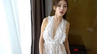 Chinese Model: Zhou Yanxi(е'Ёе¦ЌеёЊ) shows her sweet pussy for more videos