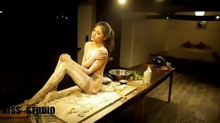 AISS 1 triple hot chinese model more video