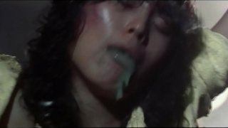 Meng Gui Chu Long (1983) Sexually Assaulted By A Ghost  Ecto Plasma Jizz